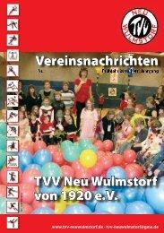 TVV Neu Wulmstorf von 1920 e.V. Vereinsnachrichten