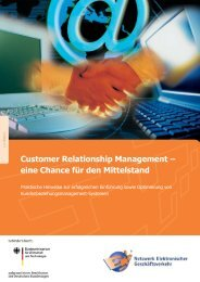Customer Relationship Management – eine Chance für ... - Kegom