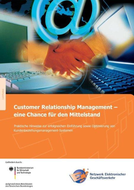 Customer Relationship Management – eine Chance für ... - Kegom