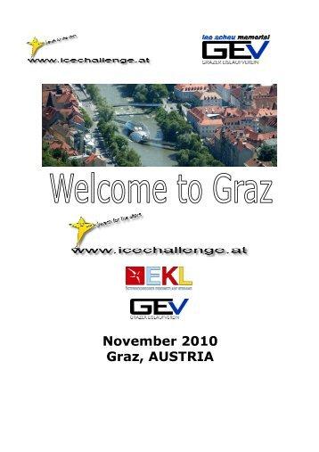 November 2010 Graz, AUSTRIA - Icechallenge