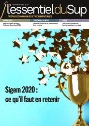 L'ESSENTIEL DU SUP PREPAS_N° 41_septembre 2020