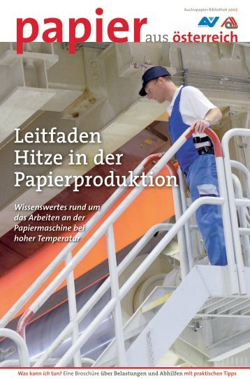 Leitfaden Hitze in der Papierproduktion