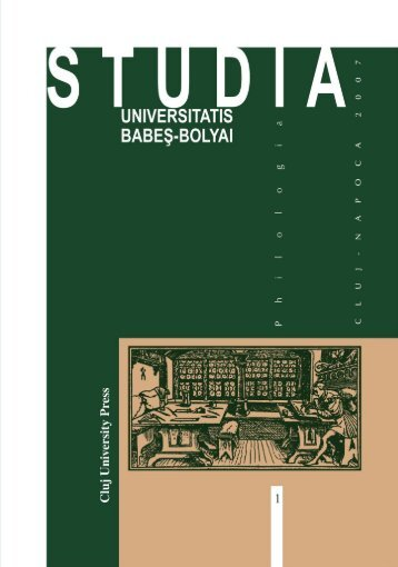 petru forna - Studia - Universitatea Babes - Bolyai, Cluj - Napoca