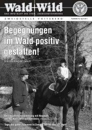 Wald+Wild 72-M−rz 2011 - Steirischer Jagdschutzverein