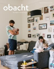 obacht Familienmagazin Sept/Okt/Nov 2020