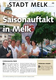 STADT MELK #3 - Stadtgemeinde Melk