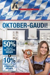 Nobilia Küchencenter | Oktoberfest - 30.09.2020