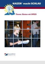 KAIZEN macht SCHLAU Rüsten mit SPEED - Rüst-Lean-Management