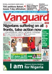 15092020 - Nigerians suffering on all fronts, take action now