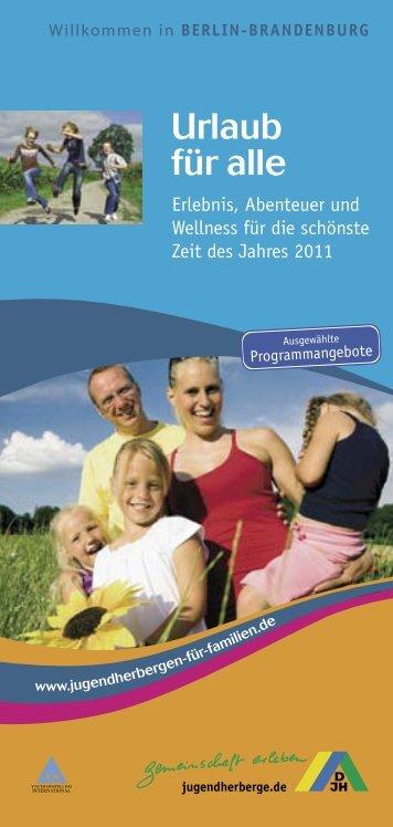 Urlaub für alle - DJH Service GmbH
