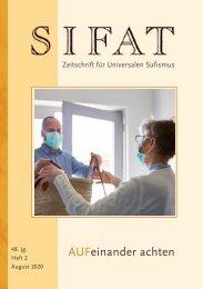 SIFAT - Heft 2 - 2020-AUFeinander achten-Leseprobe