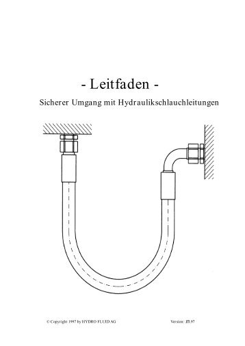 und Verwendungsdauer von Hydraulikschlauchleitungen - Butwillis ...