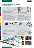 Komponenten, Systeme und Lösungen für die Bahnindustrie ... - Stauff - Seite 2