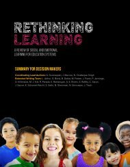 Rethinking Learning: Summary for Decision Makers