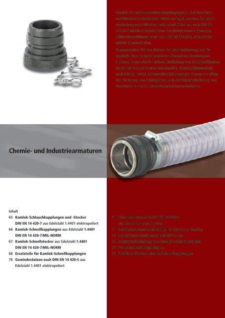 Chemie- und Industriearmaturen - luedecke.de