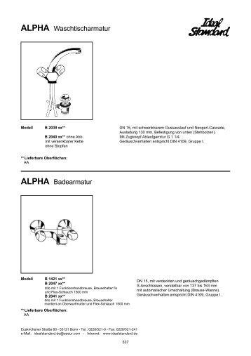 D:\katalog\18 S\armaturen\ARMATUREN Katalogseiten ... - Megabad
