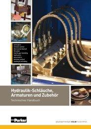 Hydraulik-Schläuche, Armaturen und Zubehör - Parker Hannifin ...