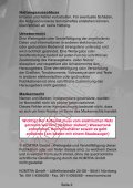 Revision Keramikventil - KOMTRA GmbH - Seite 2
