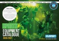 McSport Sports Equipment Catalogue 2020/2021