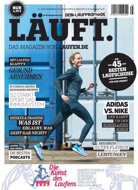 LÄUFT. Das Magazin des Runner Shop Aachen