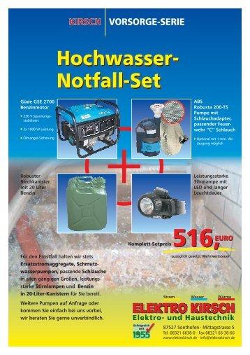 Hochwasser-Folder1 (Druck).cdr - Elektro Kirsch GmbH