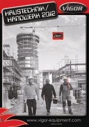 HAUSTECHNIK / HANDWERK 2012 HAUSTECHNIK / HANDWERK ...