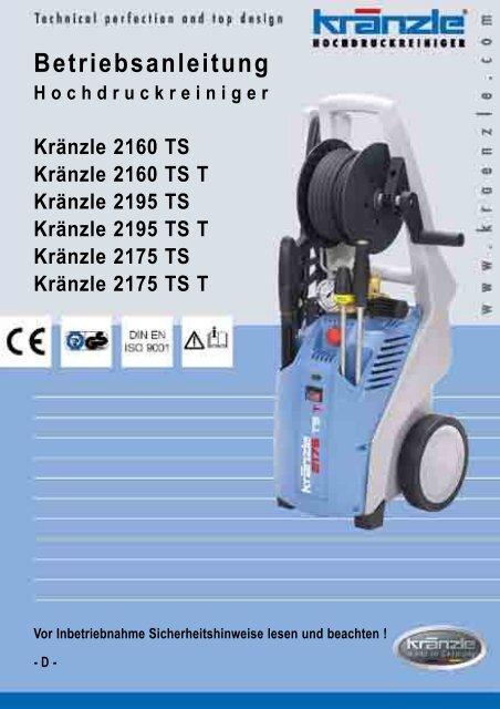 Original kränzle saugschlauch con ansaugfilter