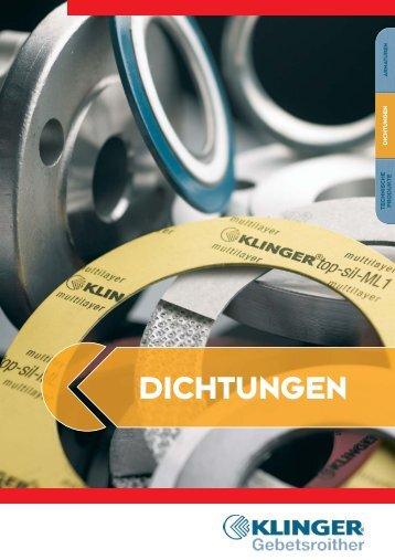 Folder Dichtungen NEU_2 - KLINGER Gebetsroither