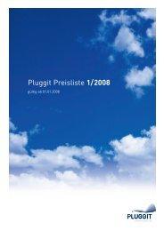 Pluggit Preisliste 1/2008 - DomoVita Haustechnik GmbH