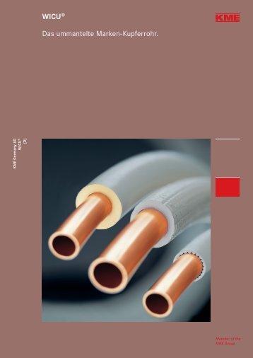 WICU® Das ummantelte Marken-Kupferrohr.