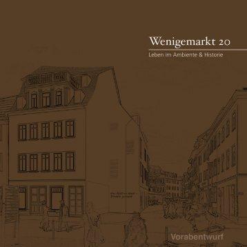 Expose Wenigemarkt 20 - HSG - Immobilienagentur Erfurt
