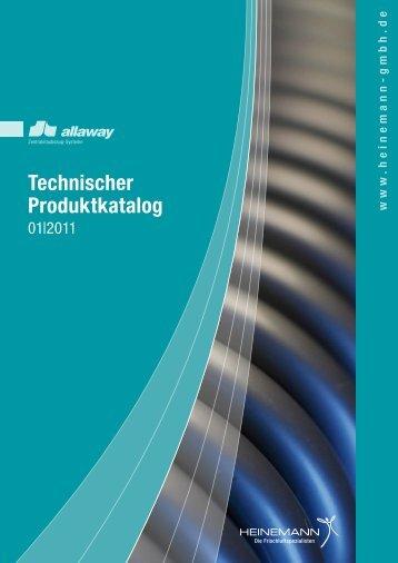 Technischer Produktkatalog - HEINEMANN GmbH