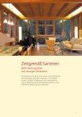 Vom Althaus zum Niedrigenergiehaus - Energie aktiv - Seite 5