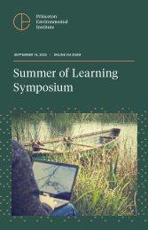 Summer Of Learning Symposium - 2020 Program