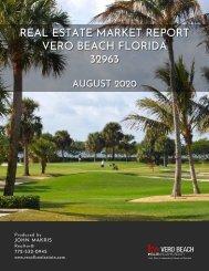 Vero Beach 32963 Real Estate Market Report August 2020