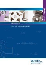 Prospekt Verderlobe - Verder Deutschland GmbH