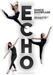 ECHO 2020 Dance Showcase Program