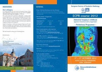 ecPr course 2012