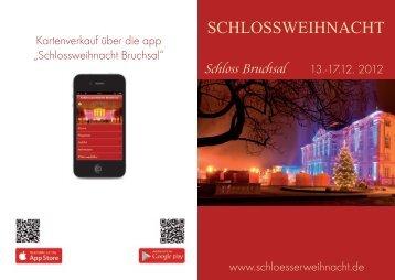 Ihre Experten für eMobilität! - Schlossweihnacht in Bruchsal