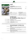 Nr. 1/2012, 55. Jahrgang (PDF) - Kölner Zoo - Seite 6