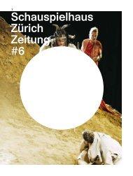 Schauspielhaus Zürich Zeitung #6