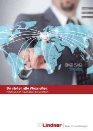Broschüre Berufsausbildung (PDF, 460 KB) - Lindner Group