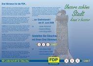 Liste 7 - FDP Sachsen