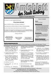 Nr. 19 / 05.10.2012 - Stadt Amberg