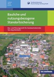 Bauliche und nutzungsbezogene Standortsicherung - Bau