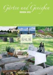 KATALOG 2012 (28 Seiten) - Baur Gartenreisen