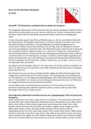 PM 12-11 vom 25.06.2012 - Gymnasium Weingarten