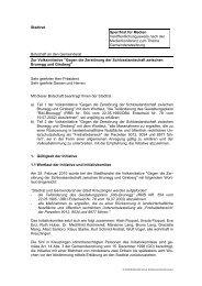 Gegen die Zerstörung der Schlosslandschaft - Kreuzlingen