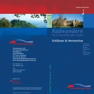 Schlösser & Herrensitze Radwandern im Schaumburger Land