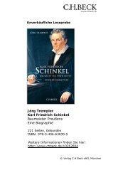 Karl Friedrich Schinkel - C.H. Beck